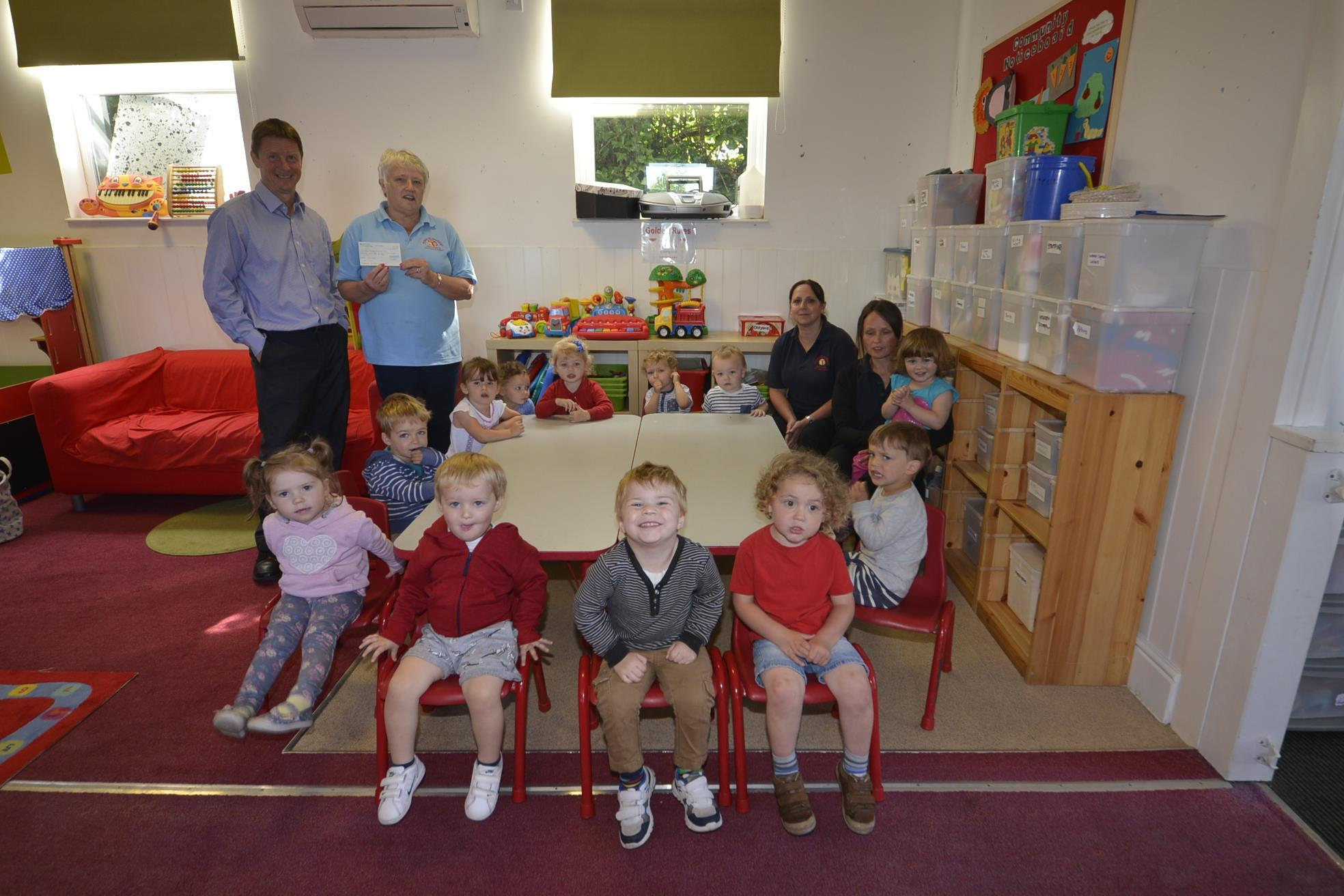 Birt & Co. Sponsor Tenby Playgroup